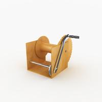 winch ups 3d max