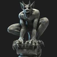 Stone Gargoyle Deamon Statue