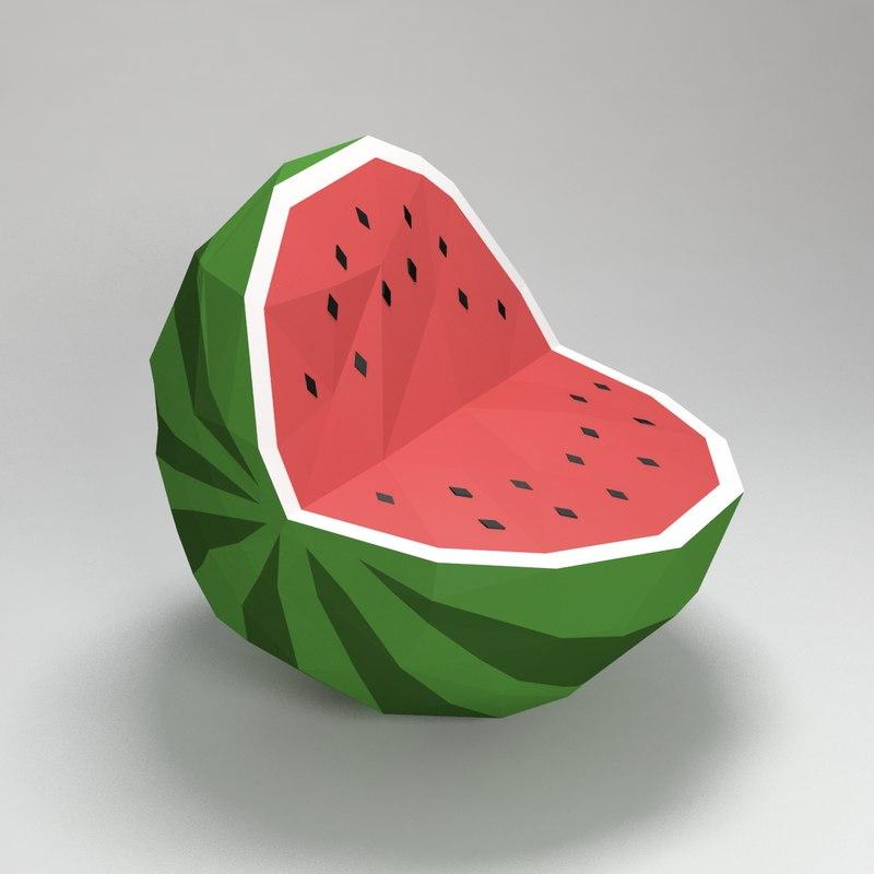 3ds watermelon