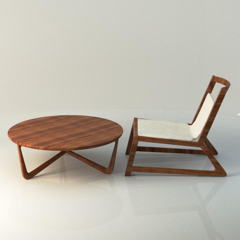 max modern table chair