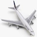 Boeing 747 3D models