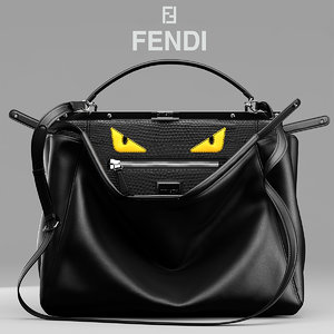 3d max bag fendi peekaboo