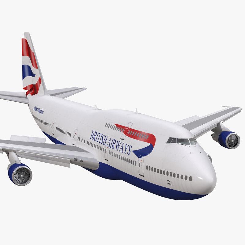 max boeing 747-300 british airways