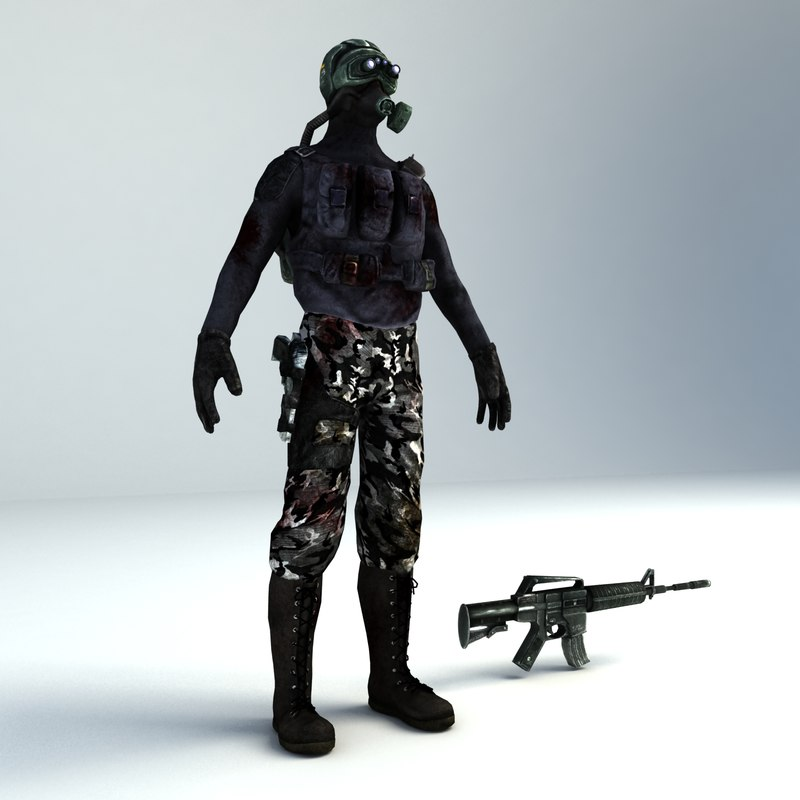 3d chemical soldier