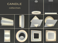 3d max luminaires candle