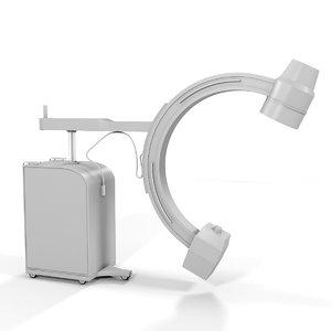 fluoroscope medical device 3d model