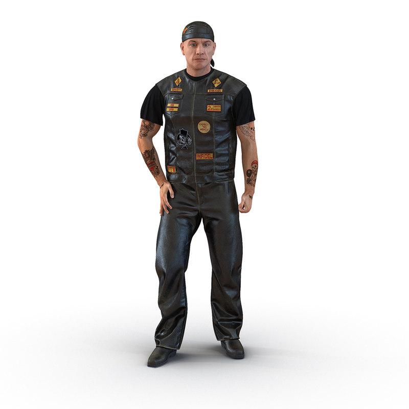 biker man rigged max