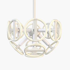 3d tom strala calmares ceiling lamp model