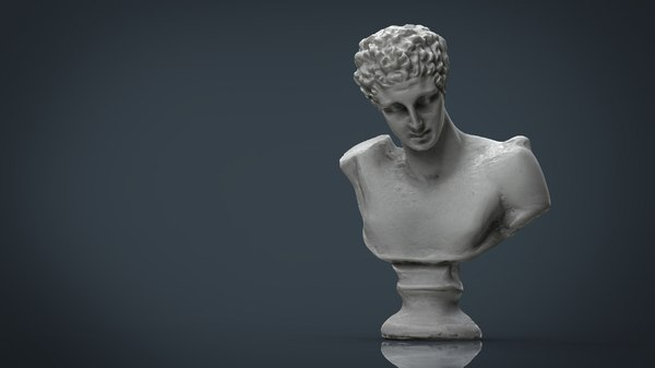 hd bust 3d 3ds