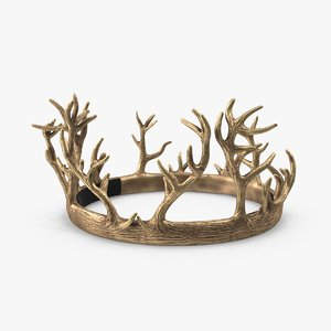 renly baratheon crown 3d max