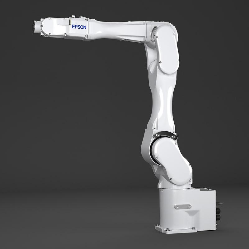 3d epson c8xl robot