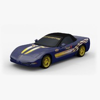 3ds chevrolet corvette c5 pace