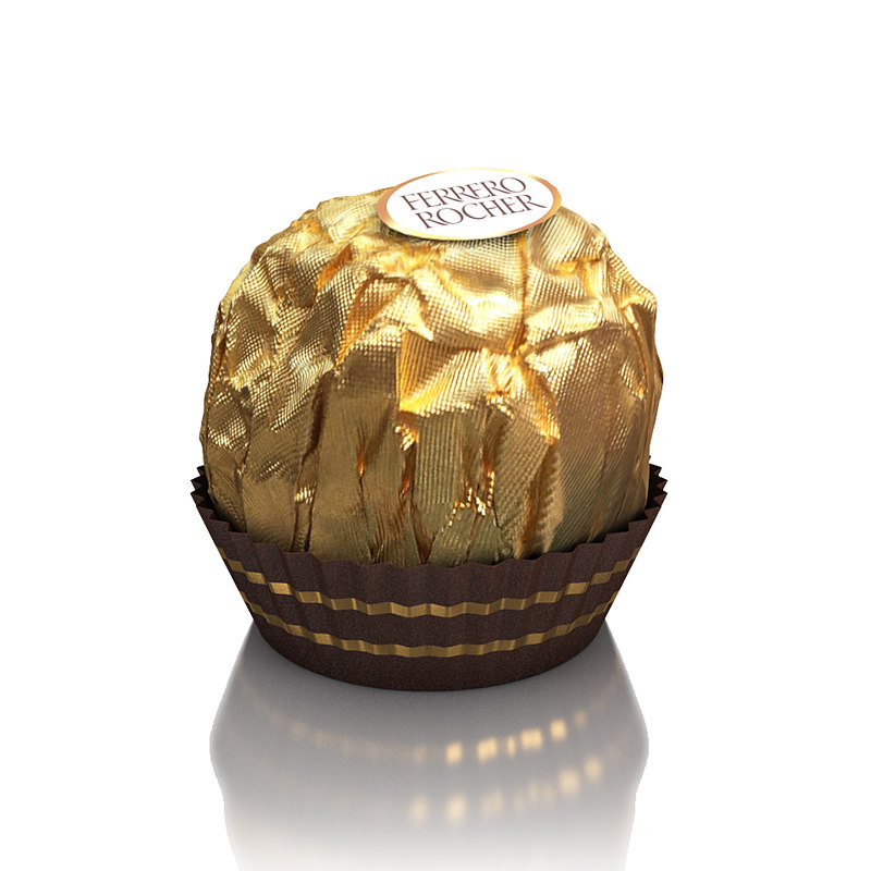 3ds ferrero rocher candy