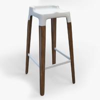 3d model of stool
