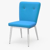 hope dining chair 3d model