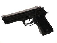 3d max beretti m9 handgun