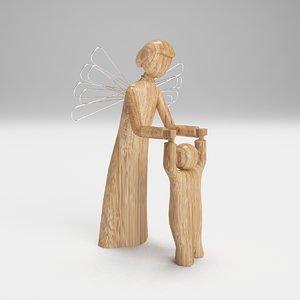 max wooden angel