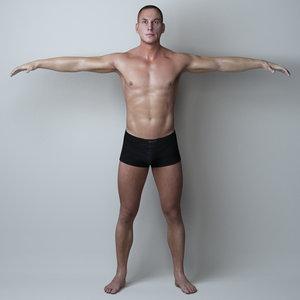 3d model man character