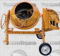 Cement Mixer Cutout