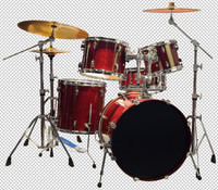 Drumset Cutout
