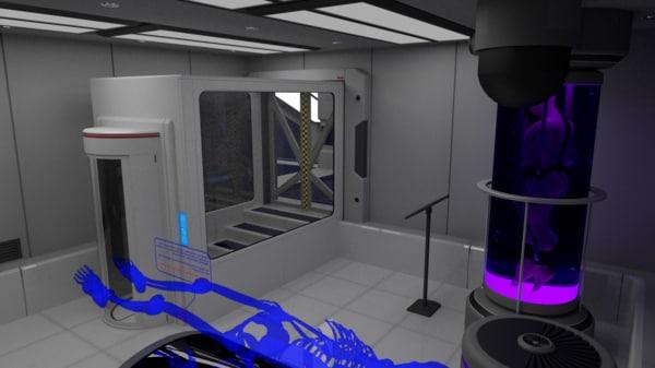 3d scifi interior construction kit model