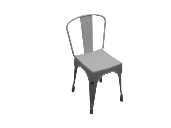 3d max tolix chair