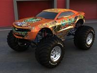 3d car crazy camaro