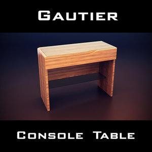 gautier dolce dressing table 3d model