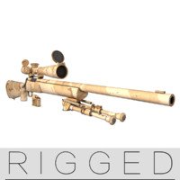 M24  rifle  rigged