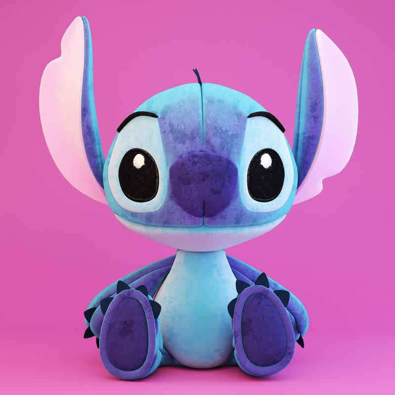 3d stitch toy