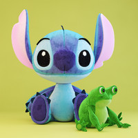 The Stitch and Frog toys