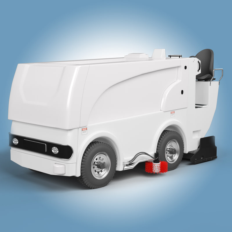 ice resurfacer 3d max