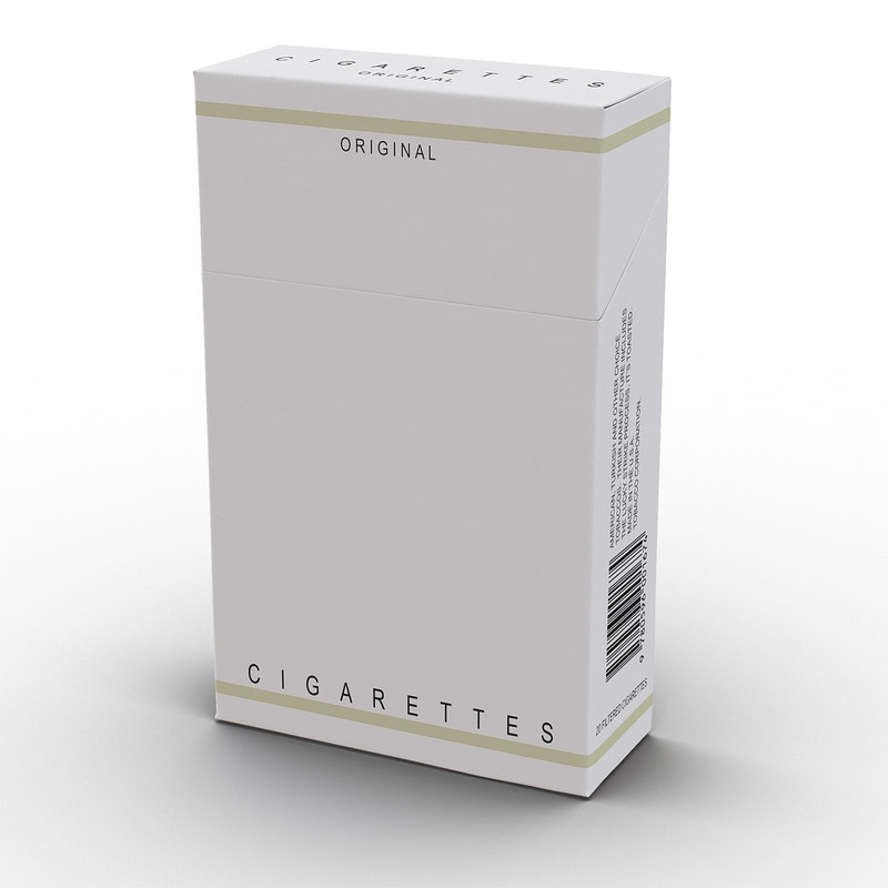 closed cigarettes pack max