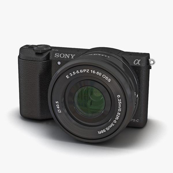 sony alpha 5100 black 3d max