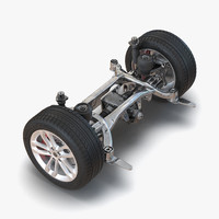 suv suspension 3d 3ds