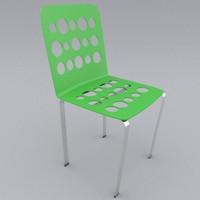 3d chair interior