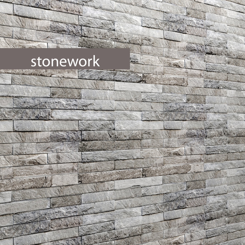 stone slate 3d model