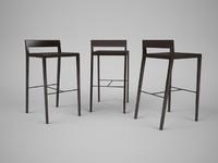porada chair barstool 3ds