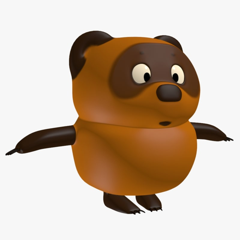 winnie pooh 3d model