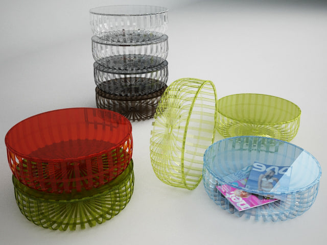 kartell panier table stool max