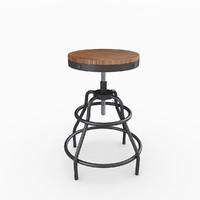 max industrial mansard stool