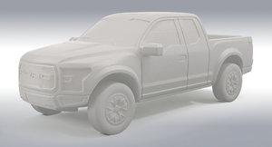 All-New Ford F-150 Raptor 3D Print