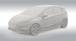 2015 Ford Fiesta ST 3D Print