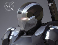 war machine mk 3 3d model