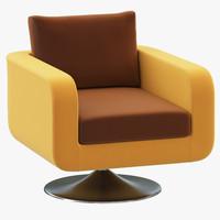 ditre italia focus armchair 3d 3ds