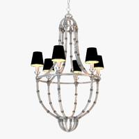 3d eichholtz chandelier moreaux