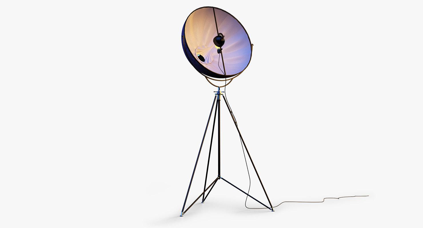 mariano fortuny lamp lighting 3d obj