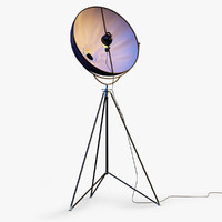 Fortuny Studio 63 Tripod Floor Lamp