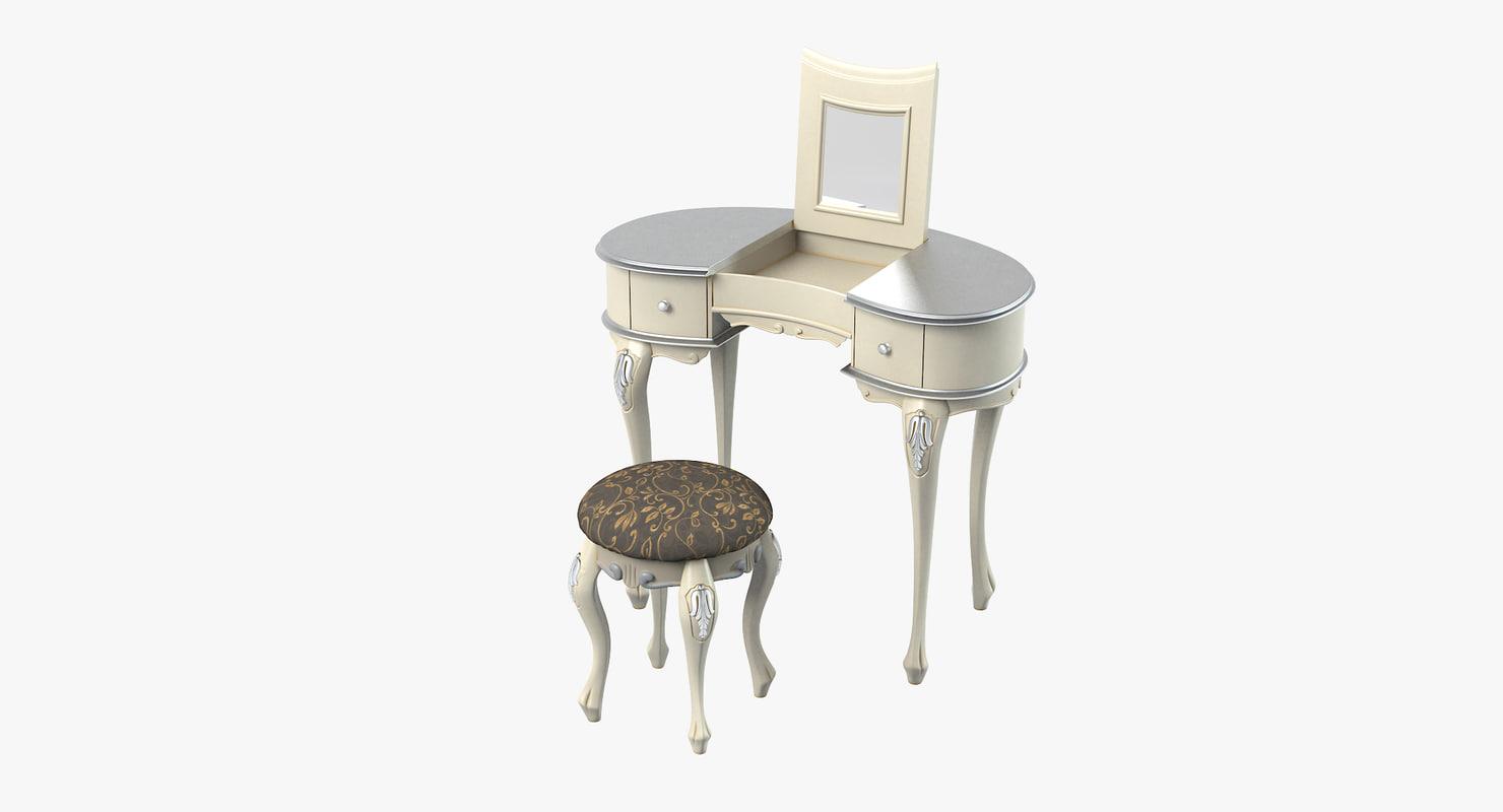 cortezari gemma dressing table max