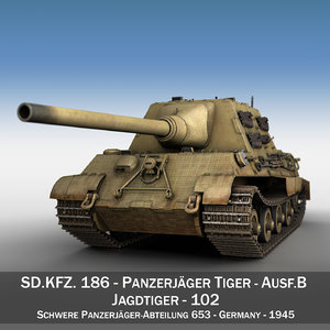 3ds sd kfz 186 -